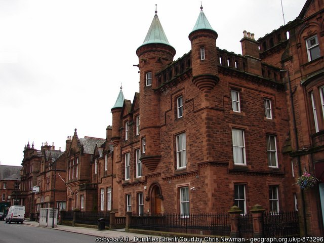 Dumfries Sheriff Court and Justice of the Peace Court