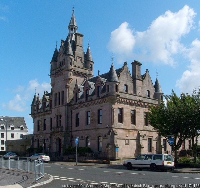Greenock Sheriff Court and Justice of the Peace Court