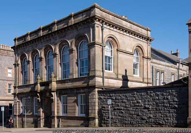 Oban Sheriff Court and Justice of the Peace Court
