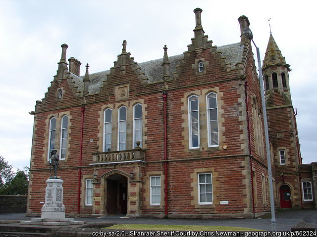 Stranraer Sheriff Court and Justice of the Peace Court
