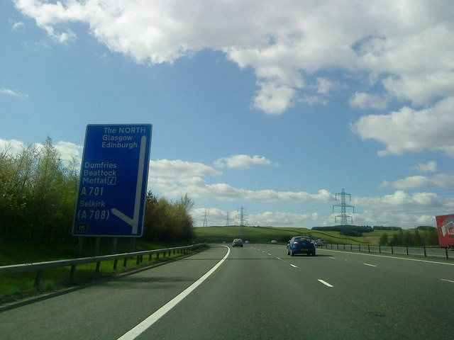 M74 Scotlands Speeding Ticket Hotspot